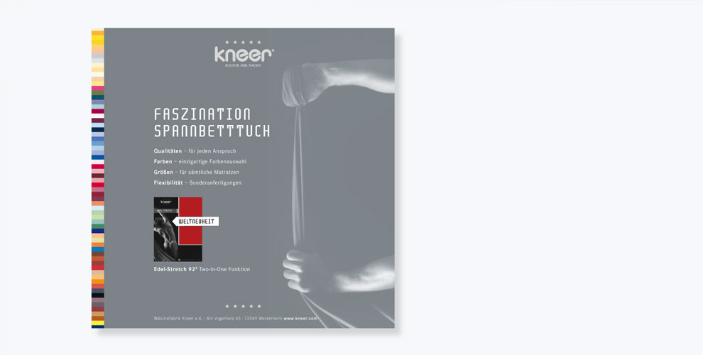 Roener Design, Kneer Wäschefabrik