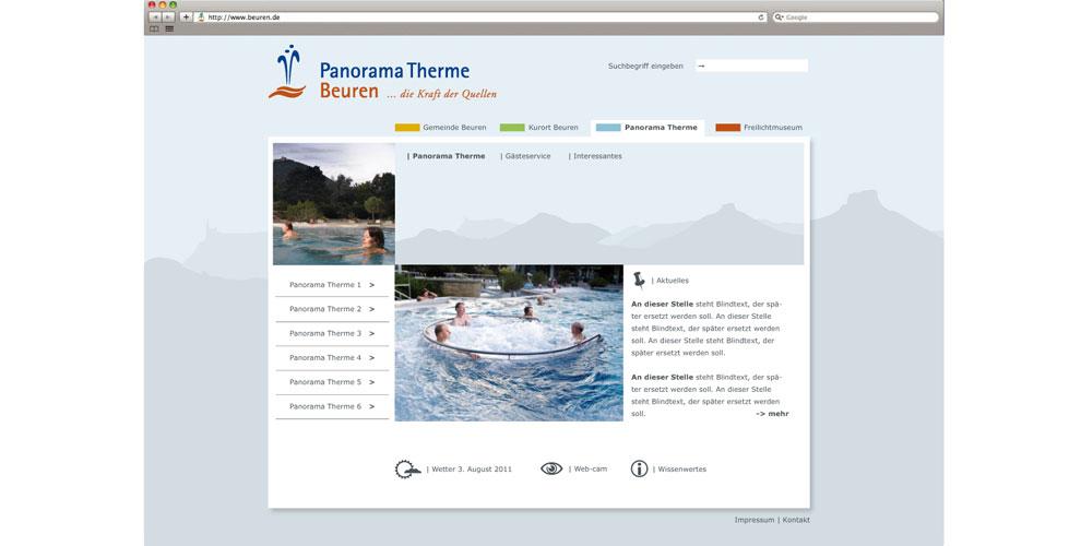 Roener Design, Panorama Therme Beuren